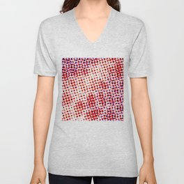 Visual illusion No. 2 Unisex V-Neck