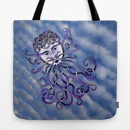 Zephyr Knot Tote Bag