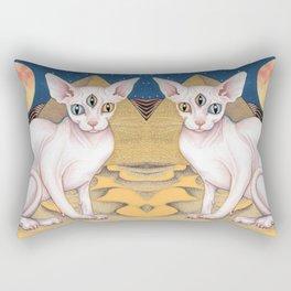 Sphinx Cat Rectangular Pillow