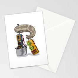 MACHINE LETTERS - R Stationery Cards