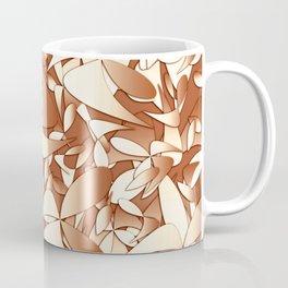 Pattern brown 156 Coffee Mug