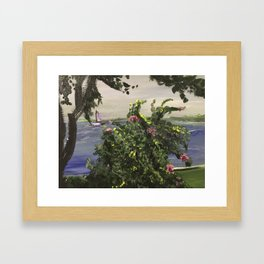 Southport Waterfront Framed Art Print
