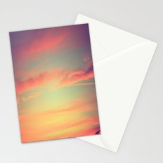 When Rainbows Go To Bed Stationery Cards