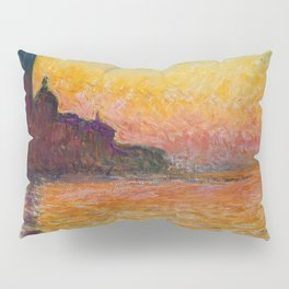 San Giorgio Maggiore by Twilight by Claude Monet Pillow Sham
