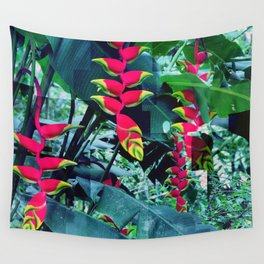 Colorful garden Wall Tapestry