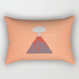 I Think I Lava You Rectangular Pillow