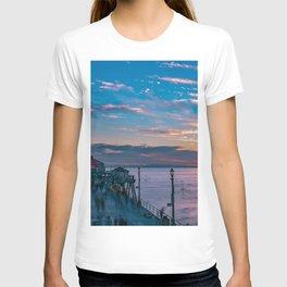 January Sunset from Huntington Beach Pier T-shirt