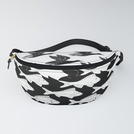 Escher - Sky and Water Fanny Pack