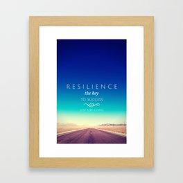 Resilience Framed Art Print