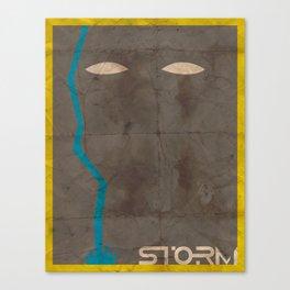 Minimalist Storm Canvas Print
