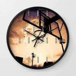 basketball star Wall Clock