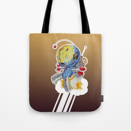 Rocket Bot Tote Bag