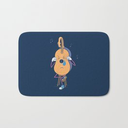 While My Guitar Gently Weeps Bath Mat
