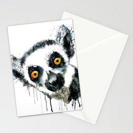 Lemur Head Stationery Cards