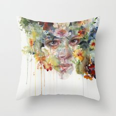 quiet zone Throw Pillow