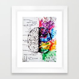 Conjoined Dichotomy Framed Art Print