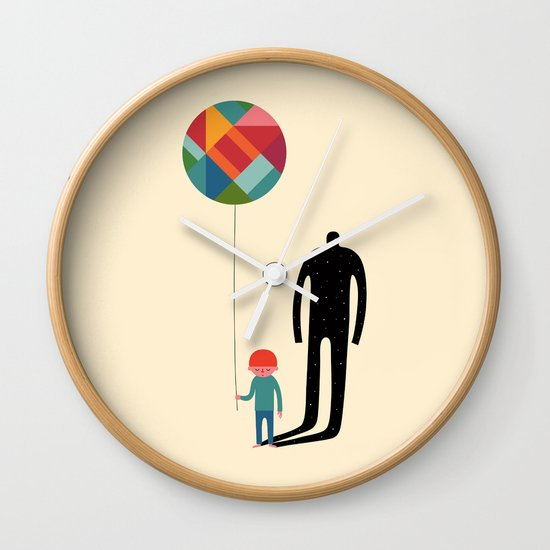 Grow Up Wall Clock