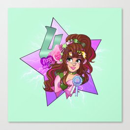 decora senshi sailor jupiter Canvas Print