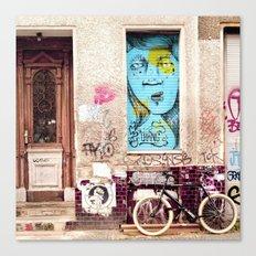 STREETART BERLIN by Jay Hops Canvas Print