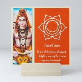 Sacral Chakra Mini Art Print
