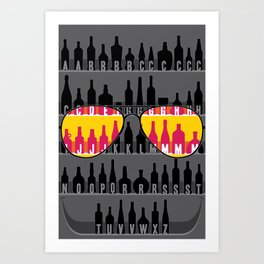 GUESS THE NAMES... ;)  Art Print