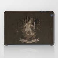 bigfoot iPad Cases featuring Bigfoot Baggins by jerbing