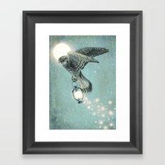 Nighthawk  Framed Art Print