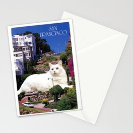 San Franciscat Stationery Cards