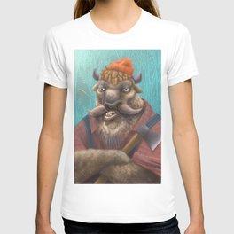 Bison Lumberjack T-shirt