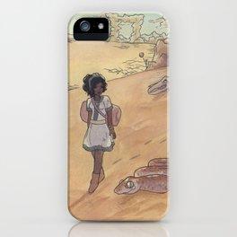 Pretty Apocalyptic Desert iPhone Case