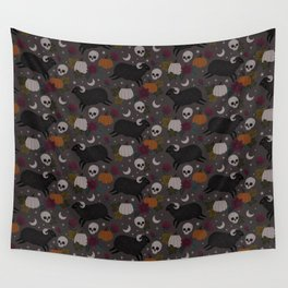 Spooky Halloween Sheep Wall Tapestry