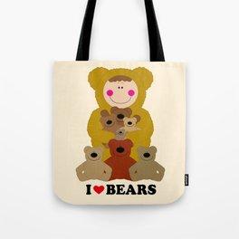 I♥BEARS Tote Bag