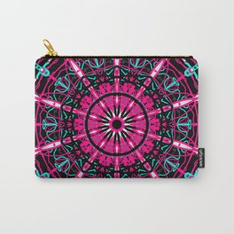 big mandala in pink Carry-All Pouch