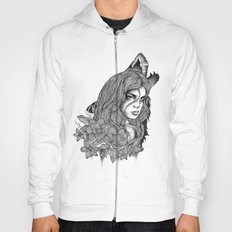IN THE COMPANY OF WOLVES Hoody