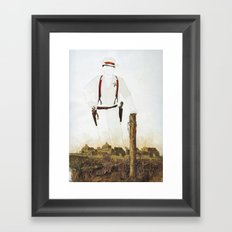 The Unknown Rider Silver Canyon Framed Art Print