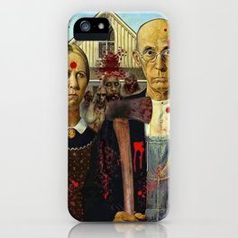 American Gothica iPhone Case