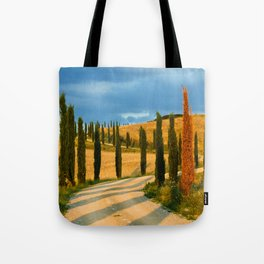 avenue of cypresses 2 Tote Bag