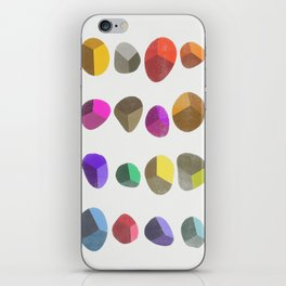 Painted Pebbles 2 iPhone Skin
