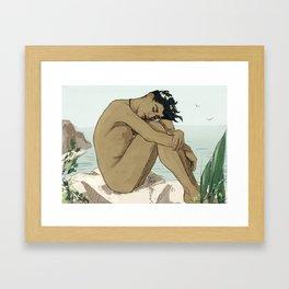 Summertime peace Framed Art Print