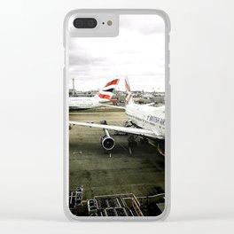 boeingairbus Clear iPhone Case