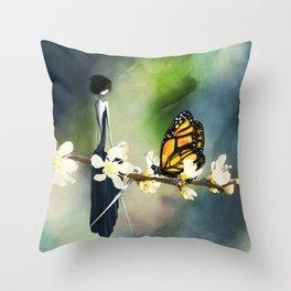 Tête à Tête Throw Pillow
