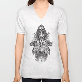 Voodoo people Unisex V-Neck