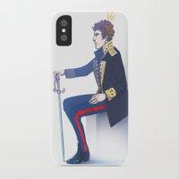 hamlet iPhone & iPod Cases featuring Benedict Cumberbatch - Hamlet by enerjax