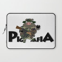 Pig Mafia Laptop Sleeve
