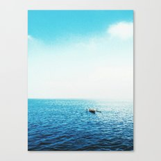 Another through the seasky Canvas Print