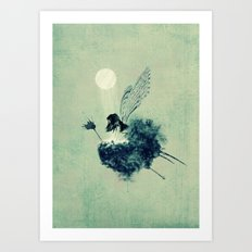 Fairy Calypso Art Print