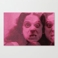 snl Canvas Prints featuring gilda by Bad Movies