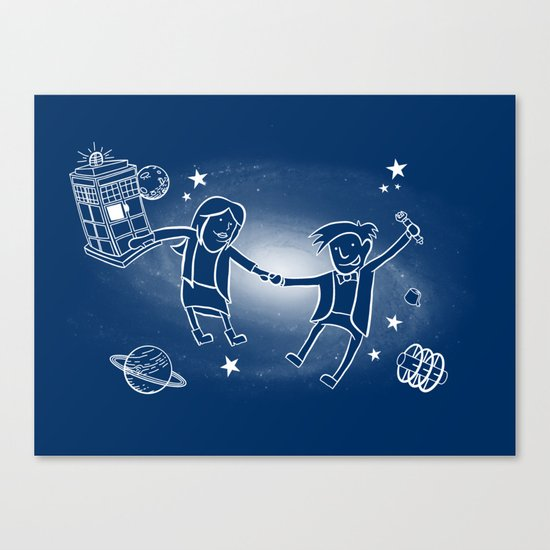 Adventures in Space/Time Canvas Print