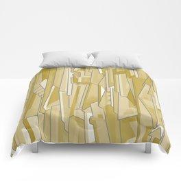 Graph (tan) Comforters