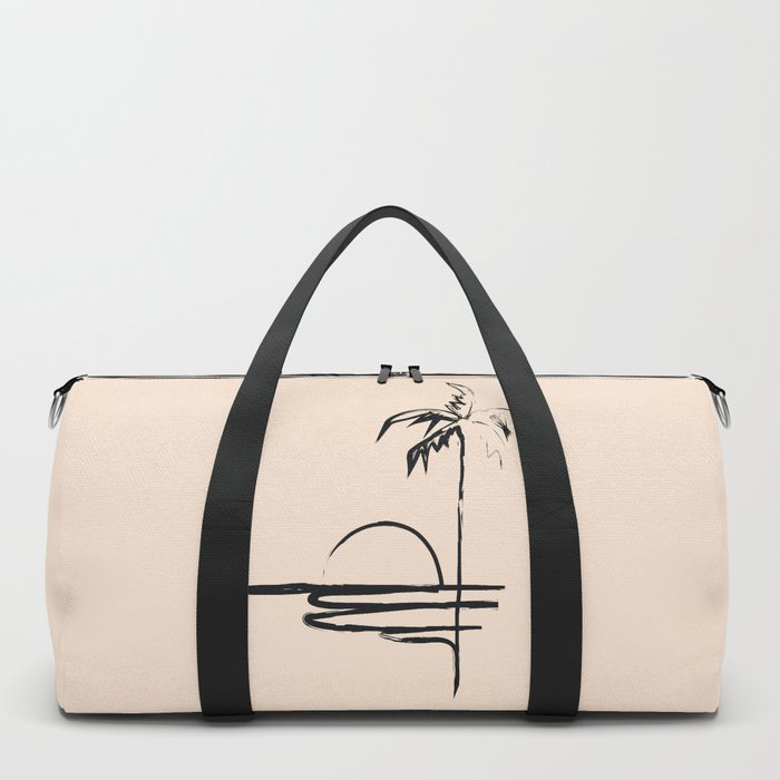 Abstract Landscpe Duffle Bag